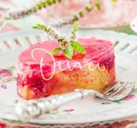 Σας έχει περισσέψει τσουρέκι;   H Ντίνα Νικολάου μας φτιάχνει πάστα από τσουρέκι και ζελέ τριαντάφυλλο - Κυρίως Φωτογραφία - Gallery - Video
