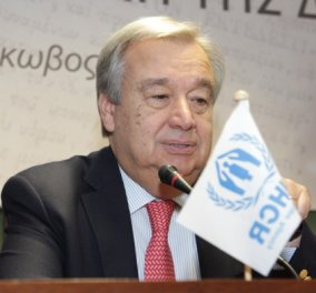 Γενικός Γραμματέας του ΟΗΕ, Αντόνιο Γκουτέρες: Προστατέψτε τις γυναίκες – Ο κορωνοϊος τις εκθέτει, μέσα στα σπίτια τους έχουμε έξαρση - Κυρίως Φωτογραφία - Gallery - Video