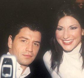 Ο Σάκης & εγώ σε vintage φωτό του 2003: Παλιομοδίτικα κινητά στο χέρι με καπάκι & αθάνατη Nokia  - Κυρίως Φωτογραφία - Gallery - Video