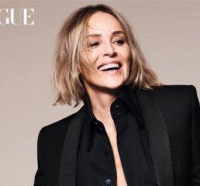 Η Sharon Stone ξαναθυμάται το βασικό της ενιστικό στα 62: Το εξώφυλλο – φωτιά εν μέσω κορωνοϊού   - Κυρίως Φωτογραφία - Gallery - Video