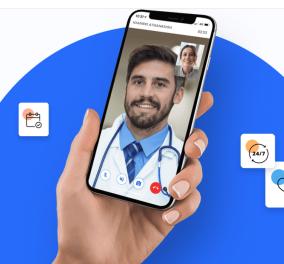 Ελληνογαλλική Start up  Dr. Button  - Διάγνωση από 500 γιατρούς μέσω βιντεοκλήσης  - Κυρίως Φωτογραφία - Gallery - Video