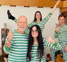 Bruce Willis & Demi Moore: Είμαστε μια οικογένεια ξανά - Ο κορωνοϊός τους έβαλε στο ίδιο σπίτι - Κυρίως Φωτογραφία - Gallery - Video