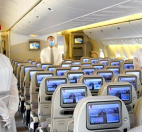 Emirates Airlines: Υπέβαλε σε εξετάσεις αίματος τους επιβάτες & τώρα δείχνει στο βίντεο το μέλλον των πτήσεων με κορωνοϊό  - Κυρίως Φωτογραφία - Gallery - Video