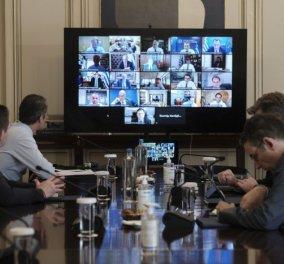 Υπουργικό - Κυρ. Μητσοτάκης: Πρώτο μας μέλημα η προστασία θέσεων εργασίας ενόψει της παγκόσμιας ύφεσης  - Δεν θα κλείσει η Βουλή το καλοκαίρι - Κυρίως Φωτογραφία - Gallery - Video