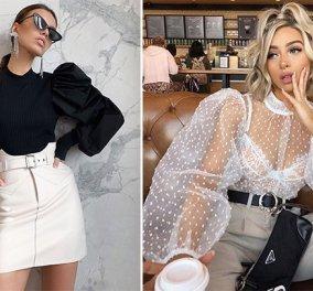 Fashion tips και ιδέες για να φορέσεις τα φουσκωτά μανίκια αυτή τη σεζόν - Eίναι το απόλυτο trend - Κυρίως Φωτογραφία - Gallery - Video