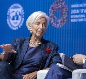 Κριστίν Λαγκάρντ: Χωρίς προηγούμενο η ύφεση στην Ευρωζώνη – Θα φτάσει το 12% - Κυρίως Φωτογραφία - Gallery - Video