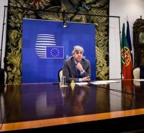 Eurogroup: Συμφωνία για πακέτο στήριξης 540 δισ. ευρώ για τον κορωνοϊό - Το κρίσιμο σημείο για τον ESM (βίντεο) - Κυρίως Φωτογραφία - Gallery - Video