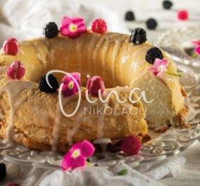 Ένα υπέροχο και εύκολο γλυκό μας φτιάχνει η Ντίνα Νικολάου - Κέικ των «αγγέλων» - Κυρίως Φωτογραφία - Gallery - Video