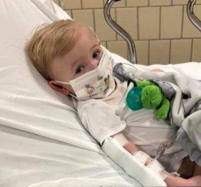 Story of the day: H μαμά διηγείται την περιπέτεια που πέρασε με το 22 μηνών μωράκι της - Είχε κορωνοϊό & 41 πυρετό (φωτό) - Κυρίως Φωτογραφία - Gallery - Video