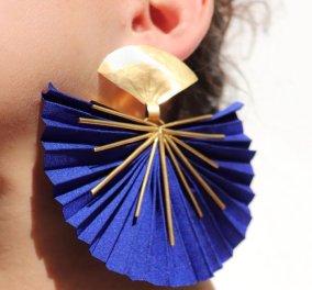 Χρώμα & φως από τη νέα σειρά Made In Greece κοσμημάτων της Κατερίνας Μακρυγιάννη: Φούξια, σμαραγδί & μπλε ρουαγιάλ (φωτό) - Κυρίως Φωτογραφία - Gallery - Video