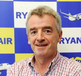 Αφεντικό της Ryanair: Βλέπω εκτόξευση ζήτησης Ιούλιο - Αύγουστο - Ετοιμαζόμαστε για πόλεμο τιμών στις πτήσεις - Κυρίως Φωτογραφία - Gallery - Video