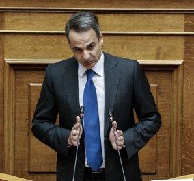 Live: Η ομιλία του Πρωθυπουργού Κυριάκου Μητσοτάκη στη Βουλή - Κύρωση της Πράξης Νομοθετικού Περιεχομένου για τα μέτρα κατά του κορωνοϊού - Κυρίως Φωτογραφία - Gallery - Video