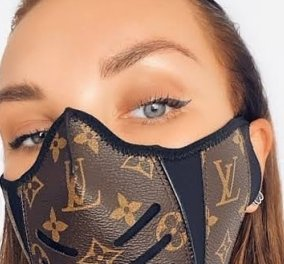 Το eirinika παρουσιάζει τις μάσκες της... μόδας: Διάσημοι οίκοι, αλλά & κοπτοραπτούδες δημιουργούν το αξεσουάρ του 2020 (φωτό)  - Κυρίως Φωτογραφία - Gallery - Video