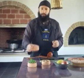 Σήμερα Μ. Παρασκευή μαγειρεύουμε άλαδη ρεβιθάδα με άγρια χόρτα - Η συνταγή του αγιορείτη μοναχού Νικήτα (βίντεο) - Κυρίως Φωτογραφία - Gallery - Video