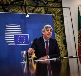 Eurogroup χωρίς λευκό καπνό, ύστερα από 10 ώρες συζητήσεων – Στον αέρα τα 540 δις (βίντεο) - Κυρίως Φωτογραφία - Gallery - Video
