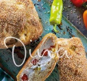Η Ντίνα Νικολάου μας ετοιμάζει λαχταριστές σπετζόπιτες με φέτα και τυρί κρέμα! - Σκέτο όνειρο - Κυρίως Φωτογραφία - Gallery - Video