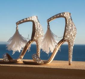 Ο Jimmy Choo μας ρωτάει: Αυτό το ζευγάρι παπούτσια που θα το πρώτο βάζατε μετά την καραντίνα;  - E με θέα θάλασσα (φωτό) - Κυρίως Φωτογραφία - Gallery - Video