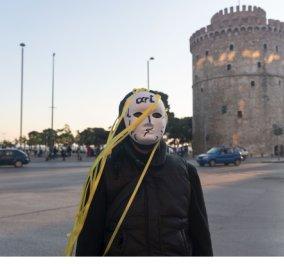 Εντυπωσιακές φωτογραφίες πλάνο - πλάνο από τις διαμαρτυρίες των ανθρώπων της τέχνης & του πολιτισμού σε Θεσσαλονίκη & Λάρισα  - Κυρίως Φωτογραφία - Gallery - Video