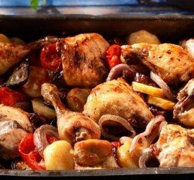 Υπέροχο & ελληνικό: Κοτόπουλο μπριάμ από την Αργυρώ Μπαρμπαρίγου - Κυρίως Φωτογραφία - Gallery - Video