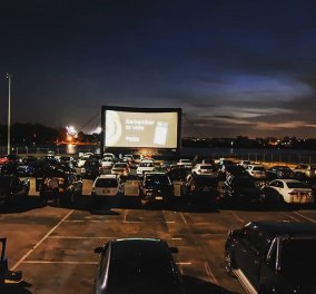 Good news: Drive in cinema ξανά της μόδας - Στη Γλυφάδα, στο Χαϊδάρι, στη Θεσσαλονίκη - Κυρίως Φωτογραφία - Gallery - Video