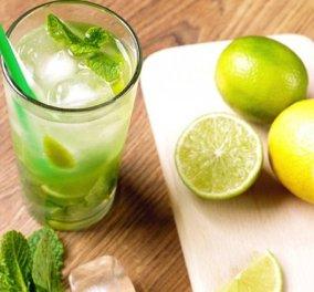 Η Ντίνα Νικολάου μας φτιάχνει απίστευτα Cocktails χωρίς αλκοόλ - Mε ζουμερά φρούτα - Κυρίως Φωτογραφία - Gallery - Video