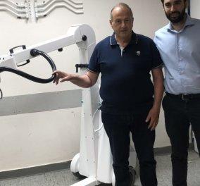 Good news: Ο Λεωνίδας Παντελάκης προσέφερε στο νοσοκομείο Ρεθύμνου ένα τροχήλατο ακτινογραφικό μηχάνημα στη μνήμη του γιου του  - Κυρίως Φωτογραφία - Gallery - Video
