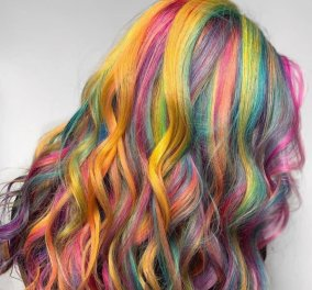 Χρώμα μαλλιών 2020; Σημειώστε ουράνιο τόξο: Φλούο κίτρινο - οινοπνευματί, ροζ & multi colour - Μια χρονιά αλλιώς... (Φωτό) - Κυρίως Φωτογραφία - Gallery - Video