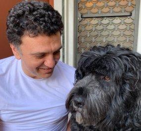 Η Τζένη Μπαλατσινού με χιούμορ: Αύριο κουρευόμαστε όλοι - Η  φωτό του Υπουργού συζύγου της  με αφάνα & ο  σκυλάκος τους δεν πάει πίσω - Κυρίως Φωτογραφία - Gallery - Video