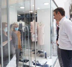 Μητσοτάκης & Τσίπρας βγήκαν στα μαγαζιά – Επίσκεψη στην Ερμού (φωτό) - Κυρίως Φωτογραφία - Gallery - Video