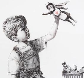 Μια Βρετανίδα νοσηλεύτρια ο σούπερ ήρωας στο νέο έργο του Banksy - Κυρίως Φωτογραφία - Gallery - Video