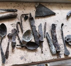 Ανατριχιαστική αποκάλυψη: Βρέθηκαν σε καμινάδα του Άουσβιτς κουταλοπίρουνα & παπούτσια των μελλοθάνατων - Κυρίως Φωτογραφία - Gallery - Video