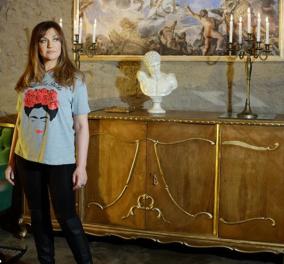 Η Καίτη Γαρμπή με σικάτο μακρύ καρέ μαλλί & ελαφριές vagues (φωτό) - Κυρίως Φωτογραφία - Gallery - Video