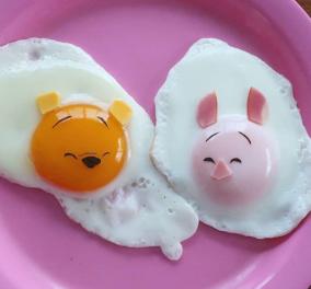 Topwoman η Γιαπωνέζα μαμά που φτιάχνει απίθανα, αστεία σχέδια με τηγανιτά αυγά (φωτό) - Κυρίως Φωτογραφία - Gallery - Video