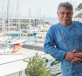 Ο Βασιλιάς του ψαριού Λευτέρης Λαζάρου ανοίγει απόψε τις βεράντες του στο seaside Varoulko με θέα Μικρολίμανο – Τα μενού, η νέα εποχή - Κυρίως Φωτογραφία - Gallery - Video