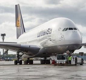 Το βίντεο με καρέ καρέ την πρώτη πτήση της Lufthansa προς Αθήνα μετά το lockdown - Η κενή ενδιάμεση θέση το πρόβλημα (βίντεο) - Κυρίως Φωτογραφία - Gallery - Video