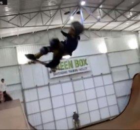 Παιδί – θαύμα στην Βραζιλία μόλις 11 ετών έκανε με το skate πρώτη φορά στροφή 1080 μοιρών - Κυρίως Φωτογραφία - Gallery - Video