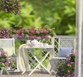 Αφού μένουμε σπίτι, ας εκμεταλλευτούμε την βεράντα μας - Ο Σπύρος Σούλης μάς δείχνει πως να την κάνουμε να μοιάζει με παράδεισο! - Κυρίως Φωτογραφία - Gallery - Video