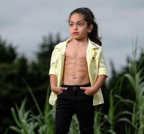 6χρονος μπόμπιρας γίνεται είδωλο στο internet με το αφύσικα μυώδες σώμα του (φωτό - βίντεο) - Κυρίως Φωτογραφία - Gallery - Video