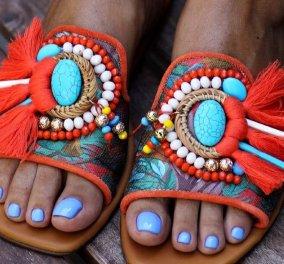 Made in Greece τα σανδάλια Elina Linardaki: Μαμά & κόρη δημιουργούν καλοκαιρινά παπούτσια σαν κοσμήματα με περίτεχνες λεπτομέρειες (φωτό) - Κυρίως Φωτογραφία - Gallery - Video