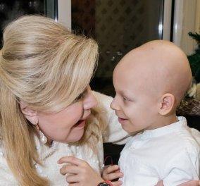 Η Μαριάννα Βαρδινογιάννη αποχαιρετά με λόγια που ραγίζουν καρδιές τον μικρό Χρήστο - Έφυγε στα 8, πάλεψε 5 χρόνια τον καρκίνο (Φωτό)  - Κυρίως Φωτογραφία - Gallery - Video