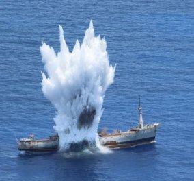 Εντυπωσιακές φωτό & βίντεο από ασκήσεις του Πολεμικού Ναυτικού & Αεροπορίας ανοιχτά της Καρπάθου - Κυρίως Φωτογραφία - Gallery - Video