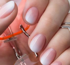 21 ιδέες για κομψά νύχια με όμπρε γαλλικό - Baby boomer nails - Κυρίως Φωτογραφία - Gallery - Video