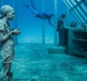 Μαγευτικό το Μουσείο Υποβρύχιας Τέχνης στην Αυστραλία - φιλοξενεί, υποβρυχίως, μια συλλογή έργων του Βρετανού καλλιτέχνη  Jason deCaires Taylor (βίντεο) - Κυρίως Φωτογραφία - Gallery - Video