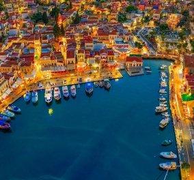Eirinika - Καλοκαίρι 2020: #Symi - Η κουκιδίτσα των Δωδεκανήσων, την ερωτεύεσαι με την πρώτη ματιά - Ζωντανή ζωγραφιά με πολύχρωμα νεοκλασικά & τουρκουάζ νερά (Φωτό)  - Κυρίως Φωτογραφία - Gallery - Video