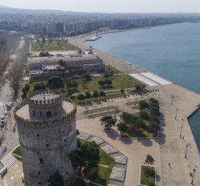 Νέο δράμα στην Θεσσαλονίκη: Πτώμα γυναίκας βρέθηκε απανθρακωμένο – Έπεσε φλεγόμενο στον φωταγωγό (βίντεο) - Κυρίως Φωτογραφία - Gallery - Video
