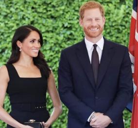 Πρίγκιπας Χάρι-Μέγκαν Μαρκλ: Φόρεσαν γάντια, σκούφους, μάσκες & ζύμωσαν ψωμί για τους απόρους (φωτό) - Κυρίως Φωτογραφία - Gallery - Video