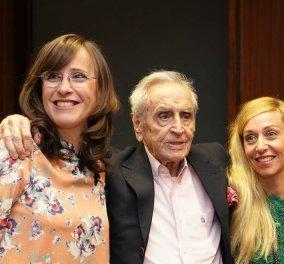 Έφυγε από τη ζωή σε ηλικία 98 ετών ο Χάρης Λυμπερόπουλος, πρωτεργάτης του αθλητικού ρεπορτάζ - Συλλυπητήρια στις κόρες του Γκρέτα & Κατερίνα - Κυρίως Φωτογραφία - Gallery - Video