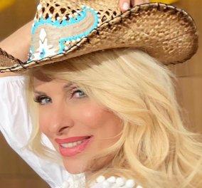 Γεννήθηκε στη Σπάρτη, την λένε Σπάρτη Λιναρδάκη & τα μοναδικά καπέλα της φοράνε η Άννα Βίσση & η Ελένη Μενεγάκη - Εσείς; (φωτό) - Κυρίως Φωτογραφία - Gallery - Video