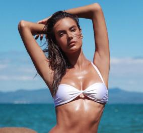 Το ατελείωτο ελληνικό καλοκαίρι της Αλεσάντρα Αμπρόσιο μόλις ξεκίνησε  - Μαγιό καταδύσεις & φανταστικά εξώφυλλα (φωτό) - Κυρίως Φωτογραφία - Gallery - Video