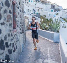Santorini Experience: Τρέξιμο με θέα που κόβει την ανάσα - Κυρίως Φωτογραφία - Gallery - Video